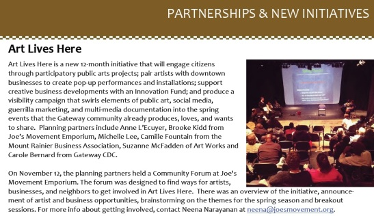 art lives here in gateway newsletter