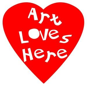 art loves here