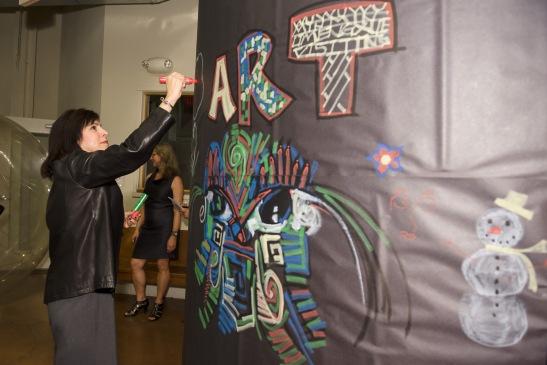 Interactive Art Wall by Nehemiah Dixon III