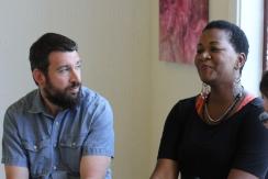 Singer/songwriter Tamar Wellons is interviewed by the Theater Tech Program, a workforce development program housed in Joe's Movement Emporium