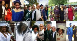 Just a few of the graduation selfies collection amassed by TTP staff