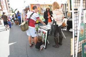 This photo's from the 6th Annual Downtown Hyattsville Arts Festival in 2013 - Features Hyattsville Community Arts Alliance (HCAA) artist Pepe Piedra