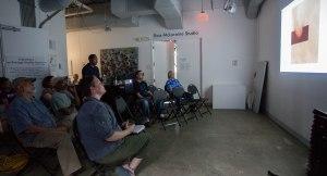 Artist Talk, Photo courtesy of Rushern Baker IV